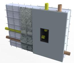 Visão em 3D do Sistema Construtivo Monoforte