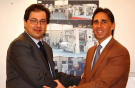 Riccardo Castello, Gerente Geral da Dolci Bielloni e Mauro Drappo, CEO da AMUT