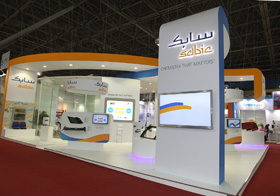 Sabic-Stand