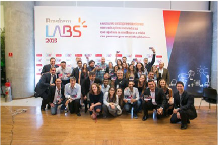 Evento de Premiação do Braskem Labs